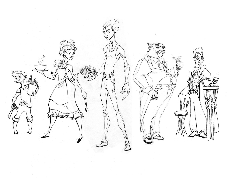 Tom Bancroft Character Design Book : Pushing character designs scott wiser ★ animator